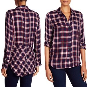 LUCKY BRAND- Bungalow Plaid Button Down